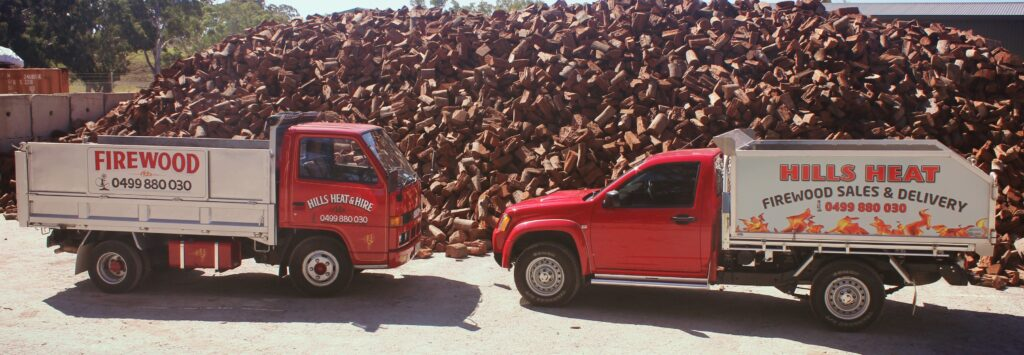 Two Firewood Trucks
